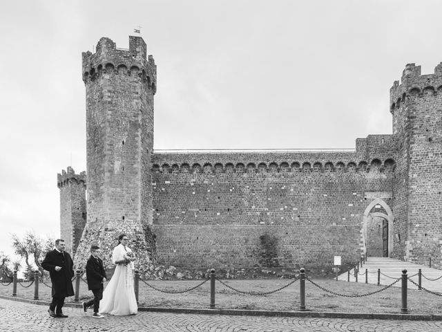 Il matrimonio di Simone e Elisa a Montalcino, Siena 42