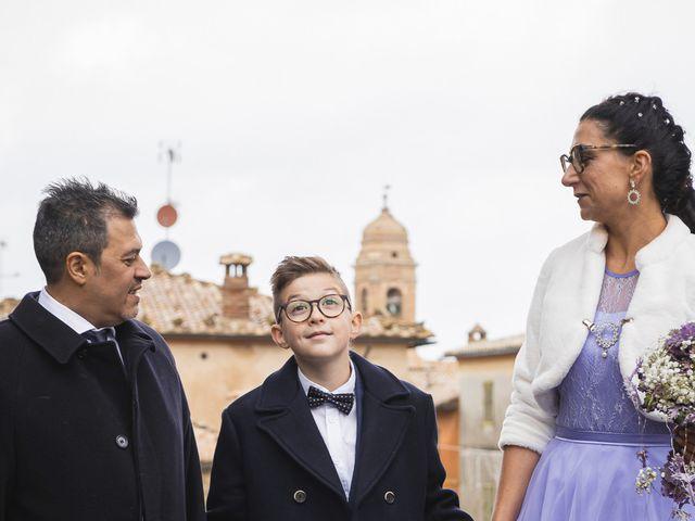 Il matrimonio di Simone e Elisa a Montalcino, Siena 43