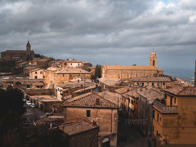 Il matrimonio di Simone e Elisa a Montalcino, Siena 45