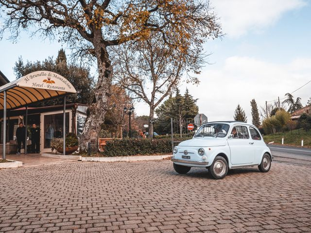 Il matrimonio di Simone e Elisa a Montalcino, Siena 46