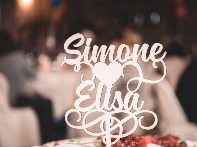 Il matrimonio di Simone e Elisa a Montalcino, Siena 56