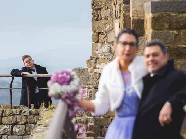 Il matrimonio di Simone e Elisa a Montalcino, Siena 82