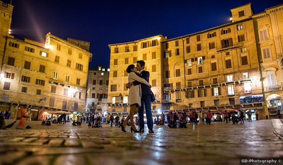 Il matrimonio di Mauro e Cecilia a Monteriggioni, Siena