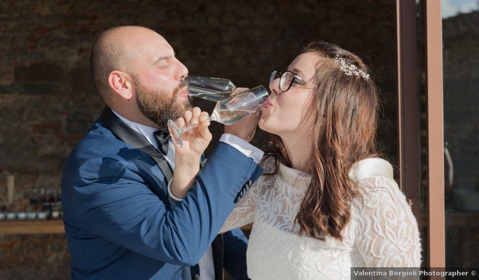 Il matrimonio di Massimiliano e Clizia a Fucecchio, Firenze