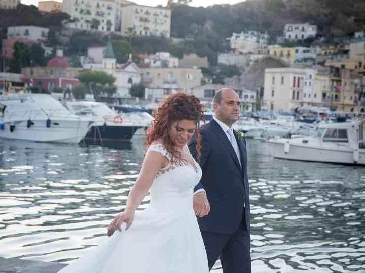 Le nozze di Marlene e Antonio