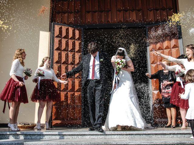 Il matrimonio di Emanuele e Chiara a Cavriana, Mantova 15