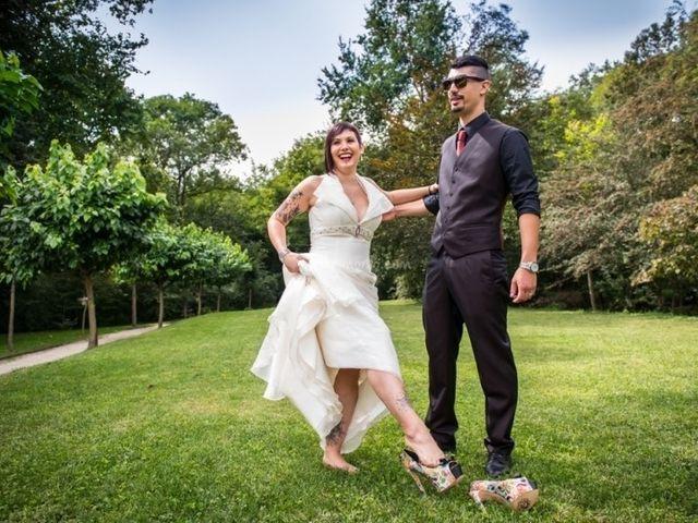 Il matrimonio di DANIELE e HILARY a Clivio, Varese 1