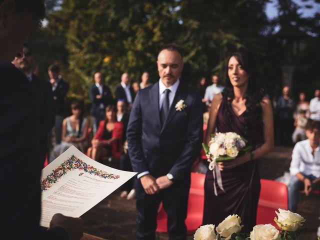 Il matrimonio di Pier Giorgio e Debora a Stia, Arezzo 11