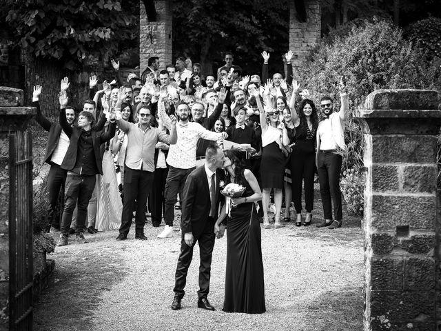 Il matrimonio di Pier Giorgio e Debora a Stia, Arezzo 16