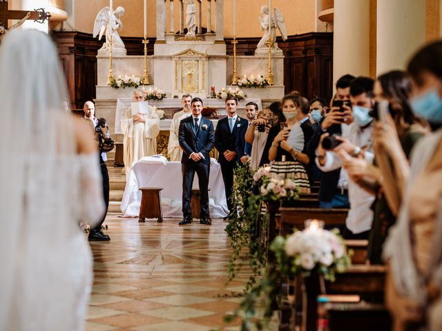 Il matrimonio di Simone e Francesca a San Bonifacio, Verona 42