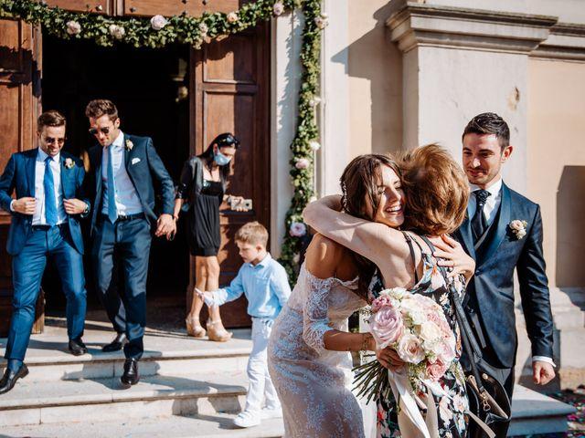 Il matrimonio di Simone e Francesca a San Bonifacio, Verona 59