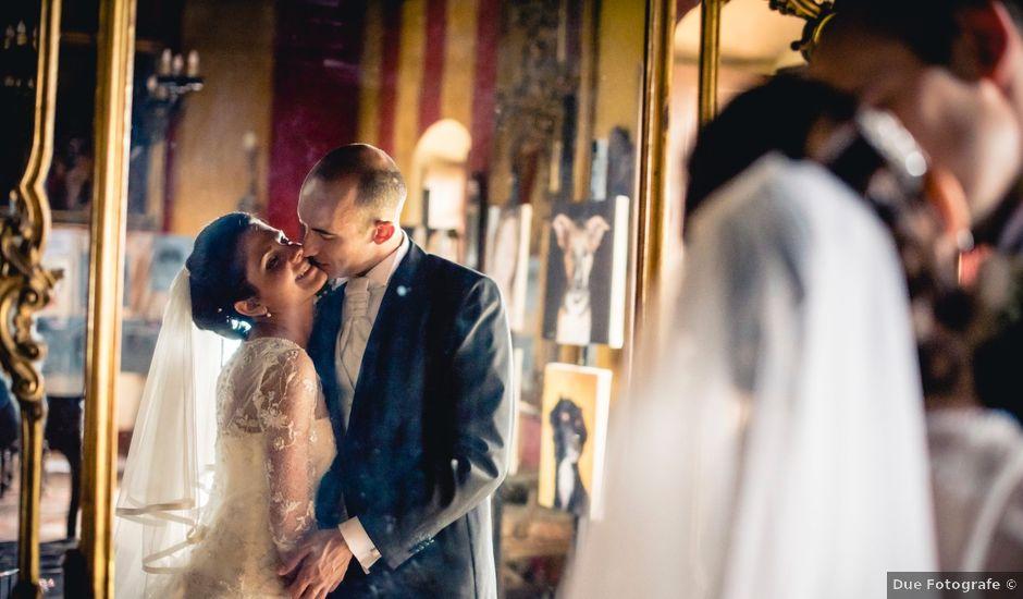 Il matrimonio di Matteo e Elisa a Moncrivello, Vercelli