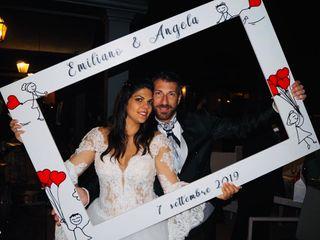 Le nozze di Emiliano  e Angela