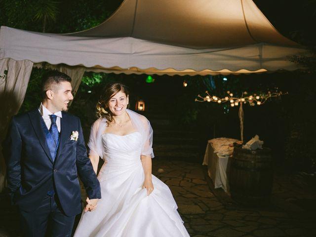 le nozze di Romina e Fabio