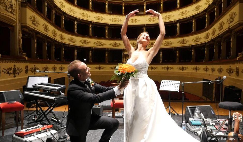 Il matrimonio di Riccardo e Angelica a Gubbio, Perugia
