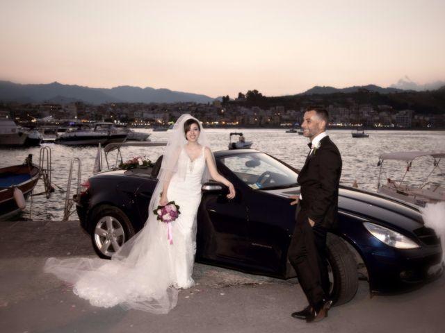 Il matrimonio di Francesco e Irene a Francavilla di Sicilia, Messina 174