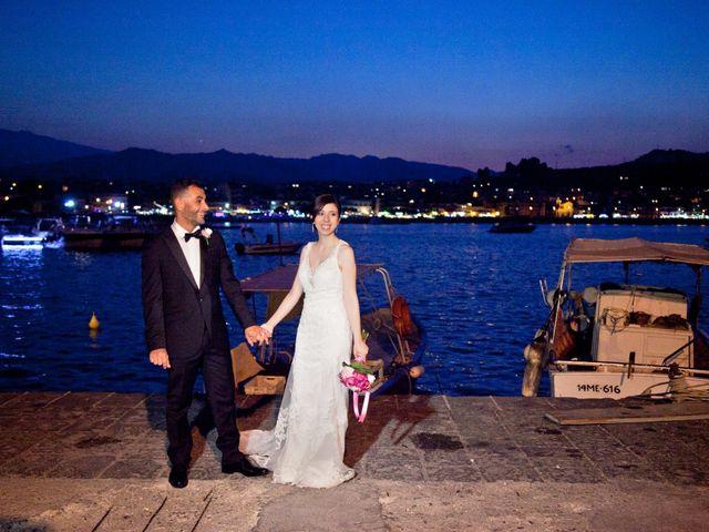 Il matrimonio di Francesco e Irene a Francavilla di Sicilia, Messina 199