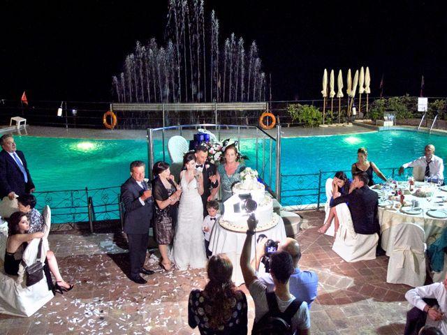 Il matrimonio di Francesco e Irene a Francavilla di Sicilia, Messina 231