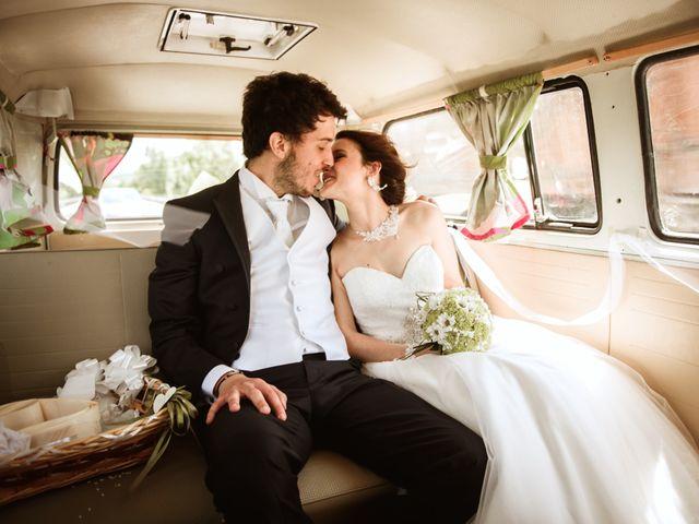 le nozze di Stefano e Sara
