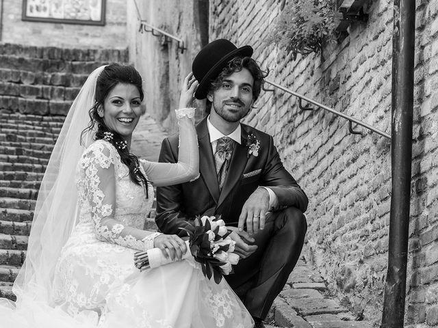 Il matrimonio di Michele e Sara a Monte Roberto, Ancona 1