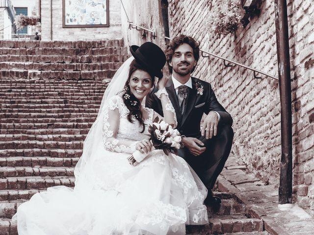 Il matrimonio di Michele e Sara a Monte Roberto, Ancona 20
