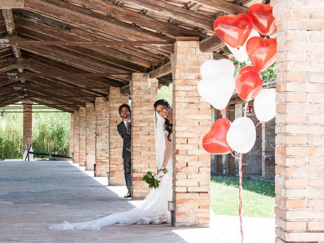 Il matrimonio di Michele e Sara a Monte Roberto, Ancona 27