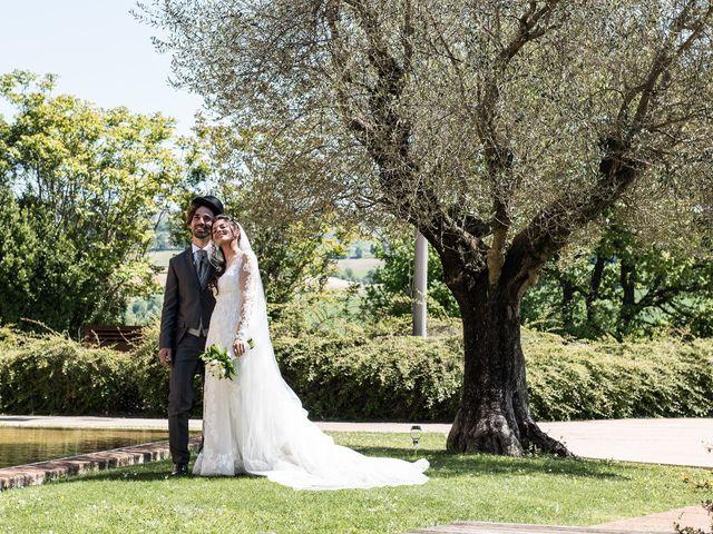 Il matrimonio di Michele e Sara a Monte Roberto, Ancona 29
