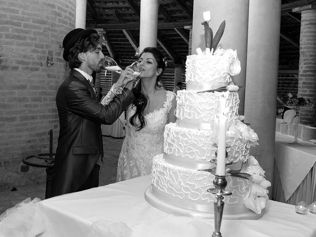 Il matrimonio di Michele e Sara a Monte Roberto, Ancona 42