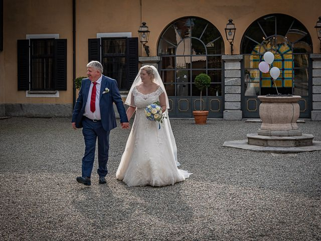 Il matrimonio di Vasile e Francesca a Vizzola Ticino, Varese 35