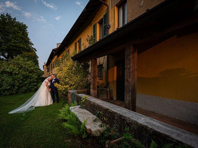 Il matrimonio di Vasile e Francesca a Vizzola Ticino, Varese 45