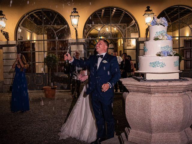 Il matrimonio di Vasile e Francesca a Vizzola Ticino, Varese 87