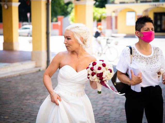 Il matrimonio di Fabrizio e Monika a Formigine, Modena 9