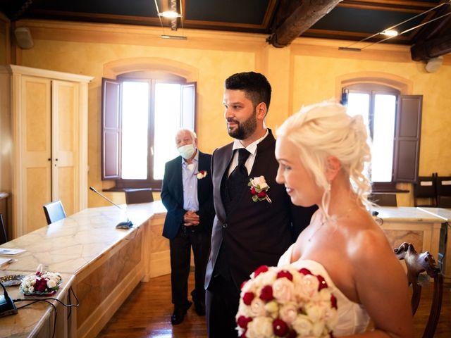 Il matrimonio di Fabrizio e Monika a Formigine, Modena 15