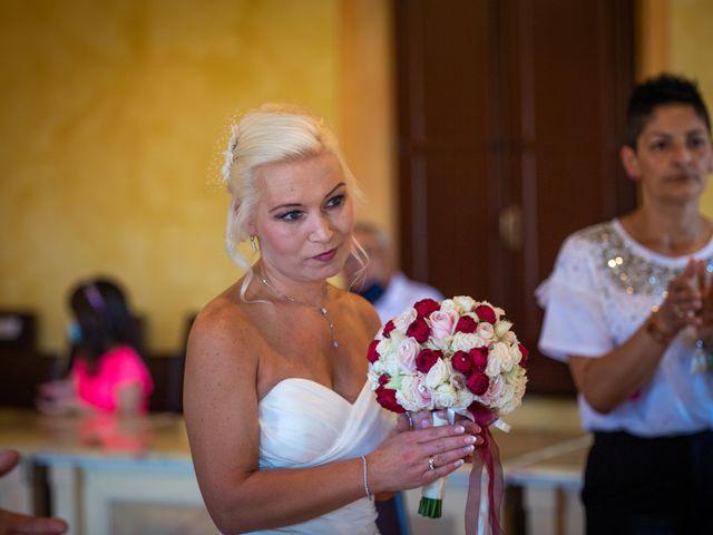 Il matrimonio di Fabrizio e Monika a Formigine, Modena 20