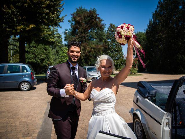 Il matrimonio di Fabrizio e Monika a Formigine, Modena 45