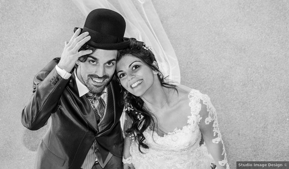 Il matrimonio di Michele e Sara a Monte Roberto, Ancona