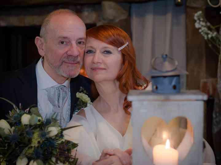 le nozze di Donatella e Mario