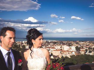Le nozze di Antonella e Roger