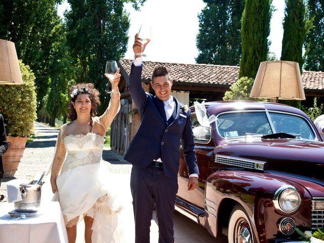 Il matrimonio di Valerio e Tecla a Milzano, Brescia 58