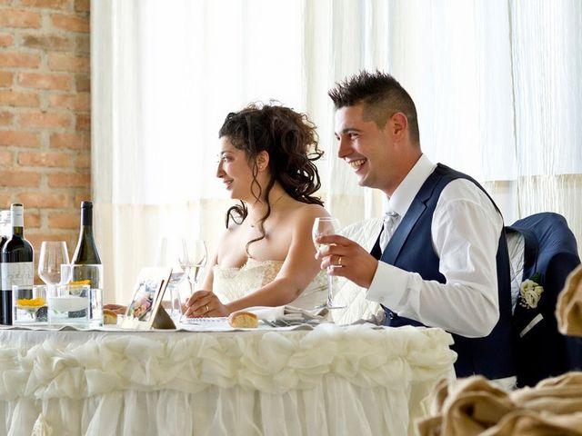 Il matrimonio di Valerio e Tecla a Milzano, Brescia 91