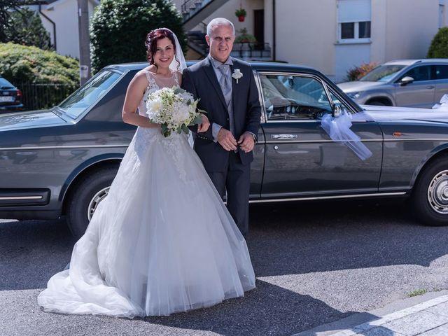 Il matrimonio di Gabriele e Elisa a Bardello, Varese 28