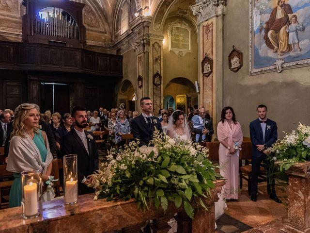 Il matrimonio di Gabriele e Elisa a Bardello, Varese 30