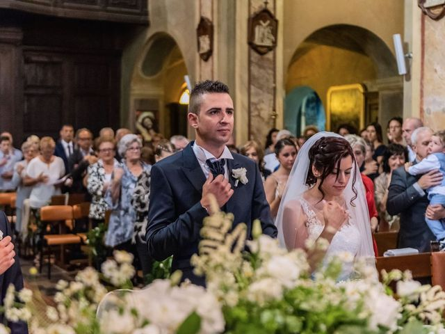 Il matrimonio di Gabriele e Elisa a Bardello, Varese 31