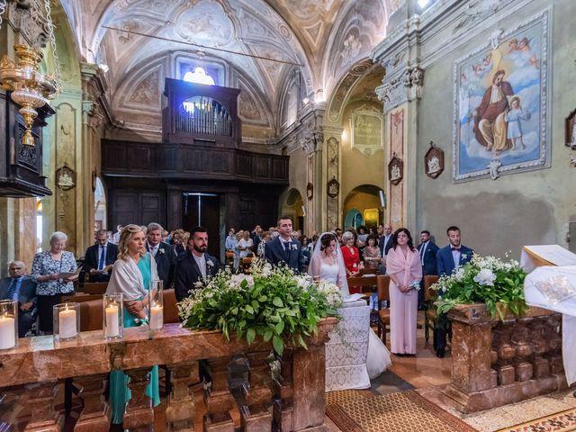 Il matrimonio di Gabriele e Elisa a Bardello, Varese 32