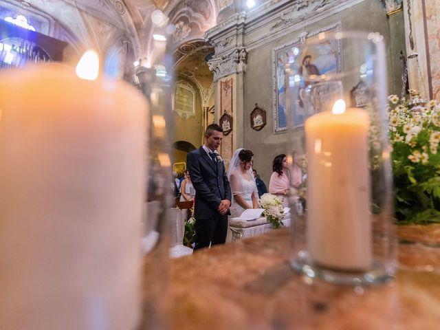 Il matrimonio di Gabriele e Elisa a Bardello, Varese 33