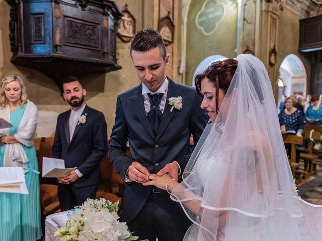 Il matrimonio di Gabriele e Elisa a Bardello, Varese 36