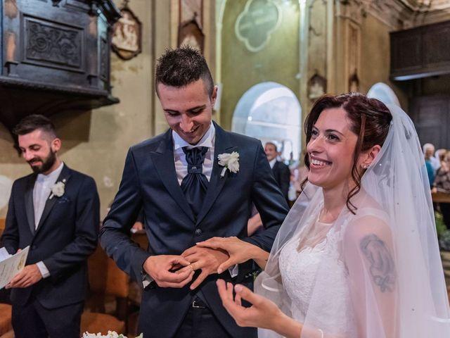 Il matrimonio di Gabriele e Elisa a Bardello, Varese 39