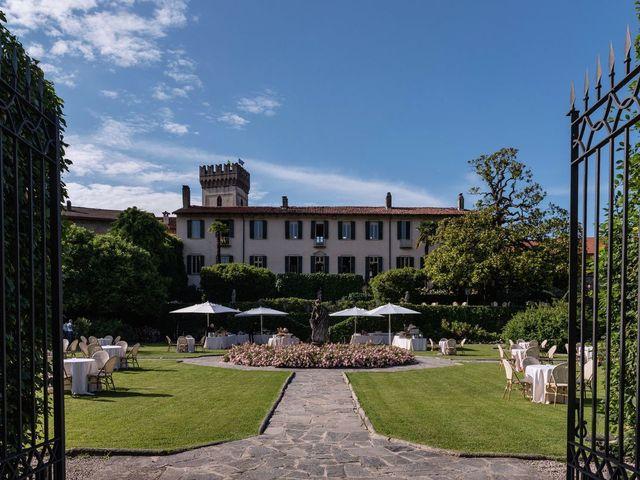 Il matrimonio di Gabriele e Elisa a Bardello, Varese 46