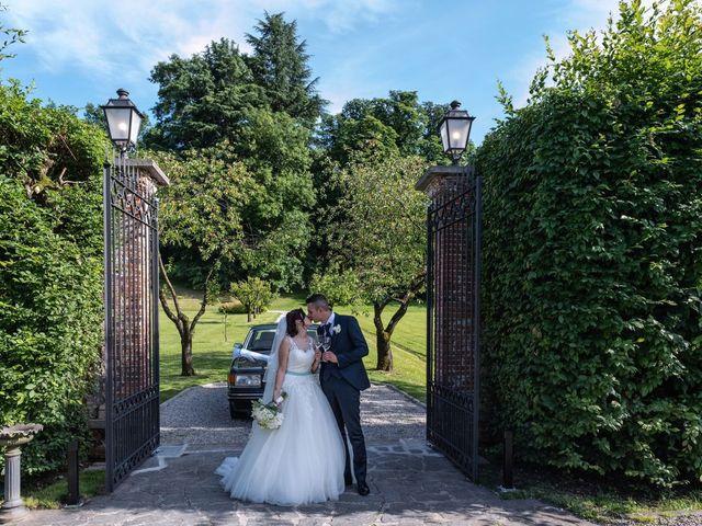 Il matrimonio di Gabriele e Elisa a Bardello, Varese 48