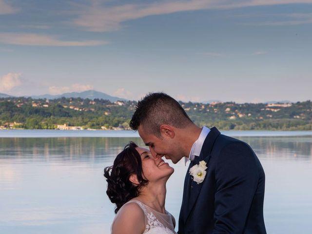 Il matrimonio di Gabriele e Elisa a Bardello, Varese 50